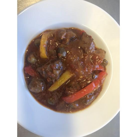 Tuscan Lamb (serves 2)