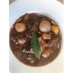 Beef Bourguignon (serves 2)